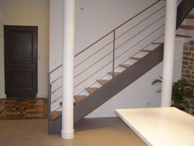 constructeur escalier sur mesure vend e 85 m tallerie soulard. Black Bedroom Furniture Sets. Home Design Ideas